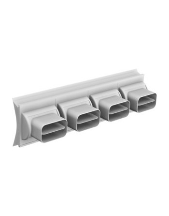 Tobera rectangular
