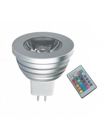 BOMBILLA LED 3W/12V MR16