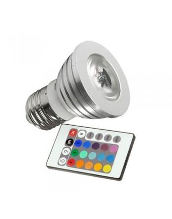 BOMBILLA LED 3W/220V E-27