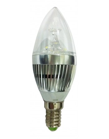 BOMBILLA LED VELA 3W/260V E-14
