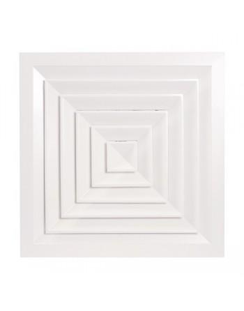 Difusor cuadrado techo modular