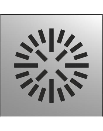 Difusor radial techo continuo