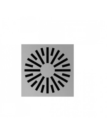Difusor radial techo modular